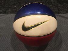 Red White & Blue Nike Basketball Ball