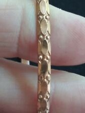 Copper VTG.southwestern BANGLE BRACELET