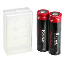 Akku 18650 VTC6 2er Set 3000mAh (30A) Aufbewahrungsbox Case  E-Zigarette NEU TOP