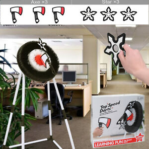 Foam Axe Throwing Game Set Indoor/Outdoor Family Party Sports Games Fun Toy Gift