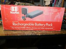 Novatel Deluxe Rechargeable Battery Pack Bcna-Ap 12V 2.4 Amp 110V Ac Unit