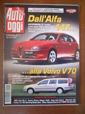 AUTO OGGI n°23 2000 Alfa Romeo 147 Audi RS4 Bultaco Sherco 2.9  [P71]