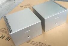 Douk Audio Mono Block Power Amplifier Chassis White Aluminum Enclosure 2PCS/1Set