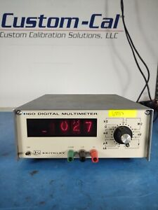 Keithley Digital Multimeter 160 AC 50-60 Hz *30DAY ROR*