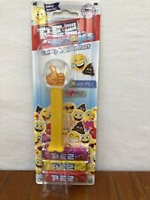 Pez Thumbs Up Emoji Candy Dispenser Raspberry Lemon Strawberry Flavor Easter New