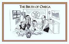 "BIRTH OF Series - Omega Psi Phi Print - BIRTH OF OMEGA 11"" x 17"" Version 4"