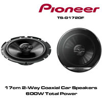 """PIONEER TS-G1720F 17cm 6.5"""" 16.5cm 600W PAIR CAR SPEAKERS 2WAY Coaxial Co axial"""