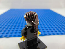 LEGO-MINIFIGURES SERIES X 1 GIRLS BROWN PONYTAIL HAIR PIECE FOR MINIFIGURES