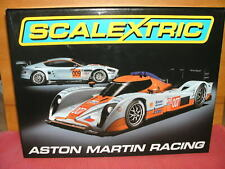 """Scalextric Aston Martin Racing """"Gulf"""" Limited Edition """"Le Mans"""" Neu + Ovp"""