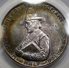 1920 Pilgrim Commemorative Half Dollar PCGS MS-63... Nice Original Color, NEAT!!