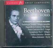 BEETHOVEN: THE GREAT WORKS - 12 ROMANTIC MASTERPIECES: CLASSIC FM CD (2007)
