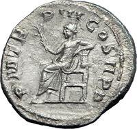 GORDIAN III 240AD Rome Authentic Ancient  Silver Roman Coin APOLLO i73175