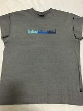 Vintage M1-11 'WORLD Skyline' XL T-Shirt 9-11 2001 NYC 'Twin Towers' Collectors!