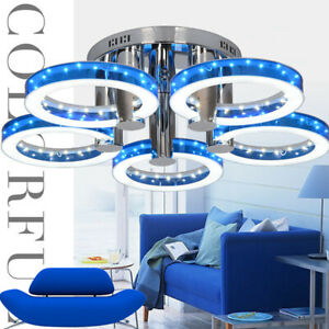 Acrylic LED Ceiling Light Bedroom Chandelier Living Room Ceiling Lamp Fixtures