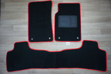 Car Floor Mats Custom Made Front & Rear w/Red Edging for Holden Commodore VE