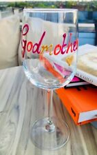 Godmother Design Gift Wine Glass: (Mutlicoloured)