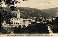 CPA Route de la corniche .- Sanctuaire de notre dame de laghet  (194756)