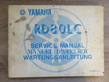 Yamaha Wartungsanleitung RD80 LC LCI 10X service manual manuel D`Atelier