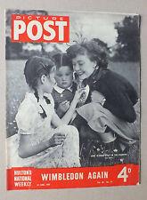 ANCIEN MAGAZINE - PICTURE POST - N° 13 VOL. 43 - 25 JUIN 1949 *