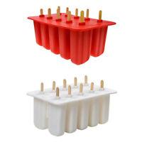 1X(Gel di silice Stampo per gelato Stampo per ghiacciolo Stampo per gelato Y9Y3
