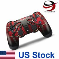 Decal Skin Cover Sticker for Sony Playstation 4 PS4 Game Controller Spider-Man