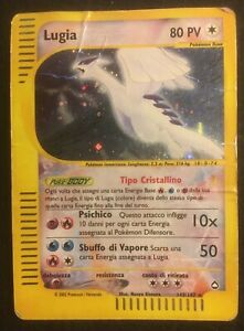 Pokemon Crystal Lugia Aquapolis Holo 149/147 Italian PL