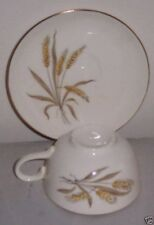 PATTERN CP171 Wheat Spray by Cunningham & Pickett Flat Cup & Saucer