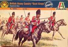 "Soldatini 1/72 ""BRITISH HEAVY CAVALRY SCOTS GREY, Napoleonic wars Italeri (6001)"