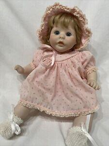 """Vintage 16"""" Marjorie Spangler Porcelain Baby Doll 1979"""