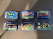 Lot 6 Leapster Leap Frog Leapster Learning Game Electronic Cartridges