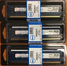 3GB 3x 1GB DDR3 PC3-10600E ECC UDIMM Dell PowerEdge Mac Pro HP Lenovo Memory RAM