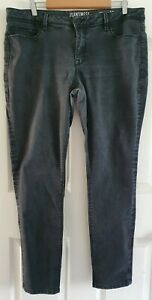 Ladies plus size 18 Black CURVE EMBRACER SUPER SKINNY Denim Jeans - Jeanswest