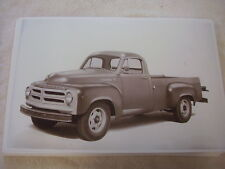 1955 STUDEBAKER PICKUP TRUCK 3/4 TON?   11 X 17  PHOTO  PICTURE