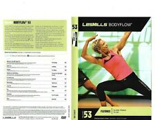 Les Mills Body Flow 53 Complete DVD, CD, Case and Notes