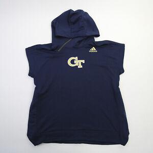 Georgia Tech Yellow Jackets adidas  Pullover Men's Navy Used