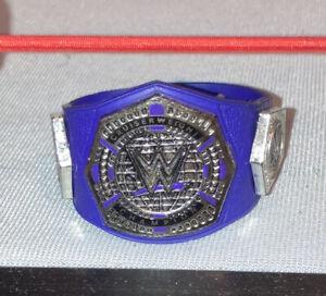 Mattel WWE Cruiserweight Title Belt for Wrestling Action Figures NXT READ DESC