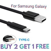 For Samsung Galaxy S9 / S9+ Plus Type C USB-C Sync Charger Charging Cable Black