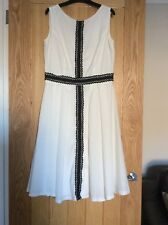 Black & White Girls On Film Dress Size 12 with Tag