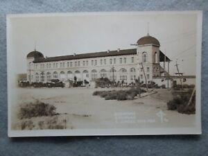 Vintage Hippodrome, Juarez, Mexico Real Photo Postcard