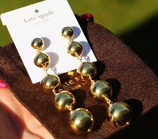 Statement Linear 4 Dramatic Drop Earrings kate spade new york Golden Girl Gold