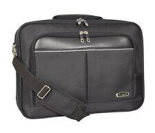 Laptop Messenger Briefcase Office Work Business Organiser Black Shoulder Satchel