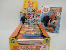 BOX DA 30 BUSTINE LE FIGURINE UFFICIALI 44 GATTI STICKER 2 SERIE TV