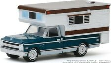 PREORDER ITEM GREENLIGHT 1969 C10 CHEVY CHEYENNE WITH LARGE CAMPER