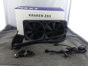 *DEFECTIVE* NZXT KRAKEN Z63 Liquid Cooler with LCD Display - *Parts Only*