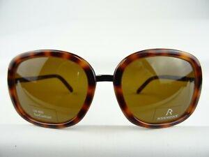 RODENSTOCK große Damen Sonnenbrille Mod. 3222 C in brauner Hornoptik NEU Gr. L