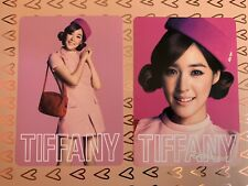 GIRLS' GENERATION SNSD Girls & Peace 2nd Japan Tour — TIFFANY Official Photocard