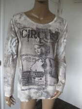 Lindsay Moda Made in Italy  schönes Shirt 40/42 langarm
