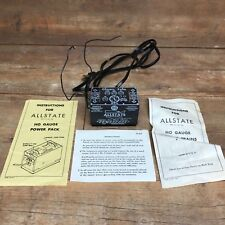 Vintage ALLSTATE POWERPACK MODEL TRAIN TRANSFORMER ~ TESTED & WORKING