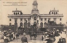 CARTE POSTALE AFRIQUE SENEGAL TYPE DE MARCHAND DE VIN DE PALME