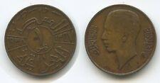 K42 - Irak 1 Fils AH1357-1938 KM#102 König Ghazi I.1933-1939 Iraq